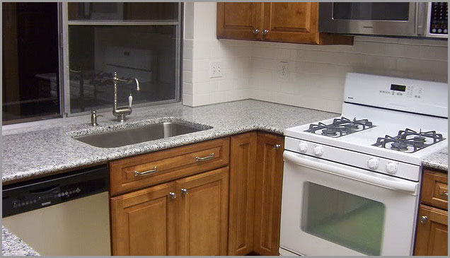 Black White Granite Countertops : ... Granite Tile, Black White Granite, Luna Pearl Granite Countertop, Luna