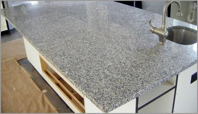 Luna Pearl Granite Countertop ...